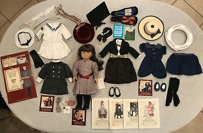VINTAGE American Girl: Samantha Parkington + Many Outfits and Accessories