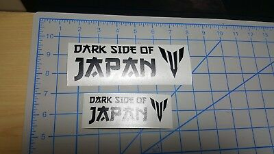 Yamaha DARK SIDE OF JAPAN decals sticker More than 10 colors available !!