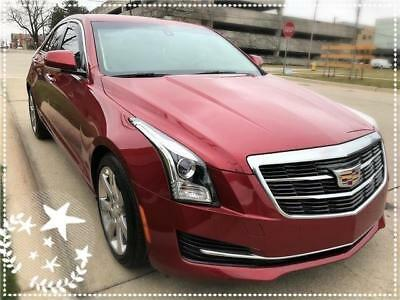 2016 Cadillac ATS Luxury Collection 2016 Cadillac ATS Luxury Eng 3.7 Rearcam Navi Front &Rear Park Assist No Reserve