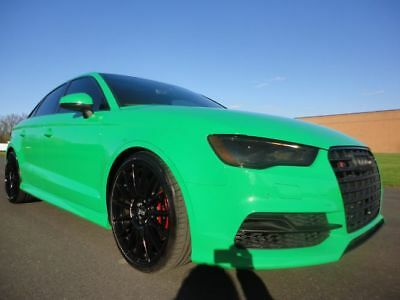 2016 Audi A3 Prestige 2016 AUDI S3 PRESTIGE EXCLUSIVE 1 OF 5 BUILT VIPER GREEN TURBO WE FINANCE
