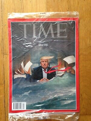 TIME Magazine  April 23, 2018 Stormy. New in Unopened wrap.
