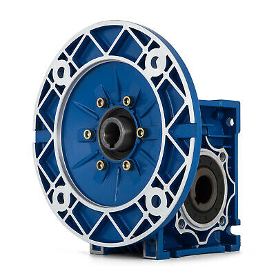 MRV050 Worm Gear 20:1 80C Speed Reducer 1750RPM Industrial Aluminum Motor