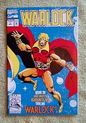Warlock #1 (May 1992, Marvel) 9.2 NM- (Before The Infinity Gauntlet There Was..
