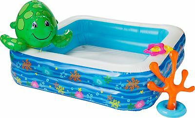 Chad Valley Children's Pool Set With Spray Turtle - From the Argos Shop on ebay