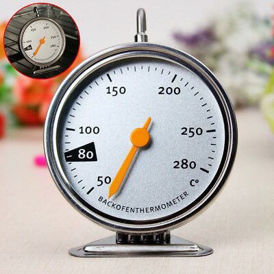50-280℃ Stainless Steel Baking Oven Cooker Thermometer Temperature Gauge