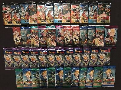 Dragon ball Z Booster Pack - Perfection-Awakening-Vengeance-Movie Collection