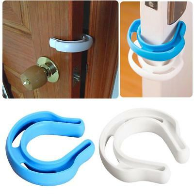 Child Safety Door Stop !! Protect Fingers Stopper Guard Infant Baby Safe  New A+