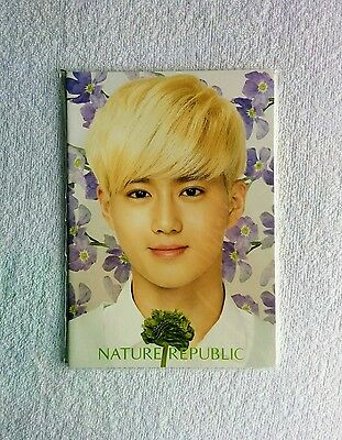 EXO Suho Nature Republic Notebook (Official and Sealed)