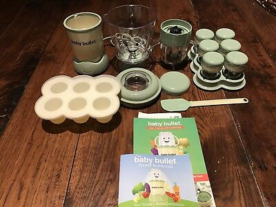 Magic Baby Bullet Homemade Baby Blender Machine System Food Maker