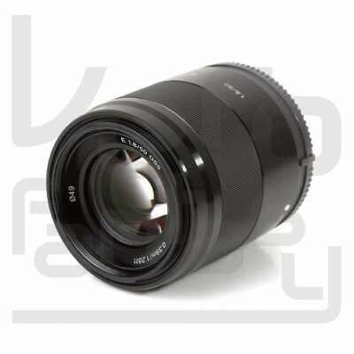 Genuino Sony E 50mm F1.8 OSS E-mount Lens SEL50F18 (Black)