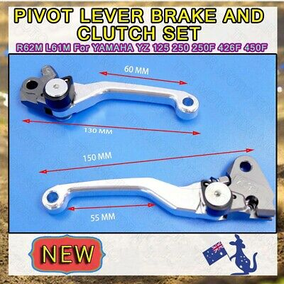 CNC Pivot Brake Clutch Lever Set For Kawasaki KX250F 2008 2009 2010 2011 2012