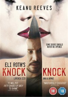 Aaron Burns, Keanu Reeves-Knock Knock  (UK IMPORT)  DVD NEW