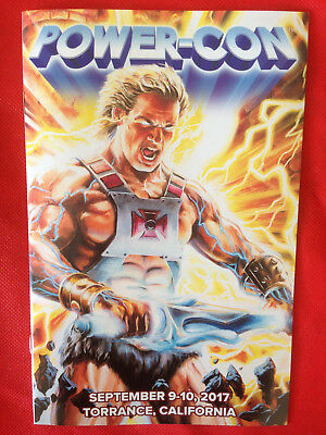 POWER CON 2017 Exclusive Program Guide MOTU Masters of the Universe HE-MAN