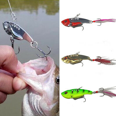 7/12g Fishing Lure Spoon Bait for Bass Trout Perch Tackle Hooks Fishing