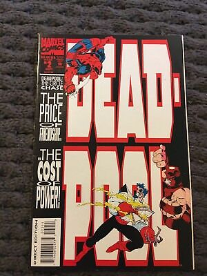 Deadpool The Circle Chase Vol 1 No 2 1993