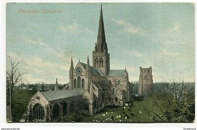 CPA-Carte postale-Royaume Uni - Chichester Cathedral - 1907 (CP2207)