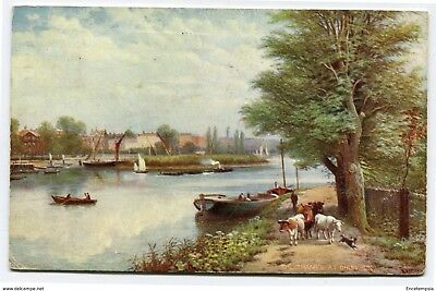 CPA-Carte postale-Royaume Uni - The Thames at Chiswick - 1907 (CP2214)