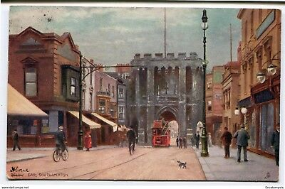 CPA-Carte postale-Royaume Uni - Below Bar - Southampton- 1907 (CP2219)