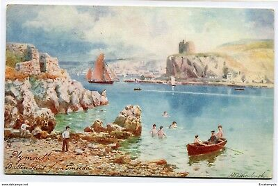 CPA-Carte postale-Royaume Uni - Plymouth - Batten Point from Tinside - 1907