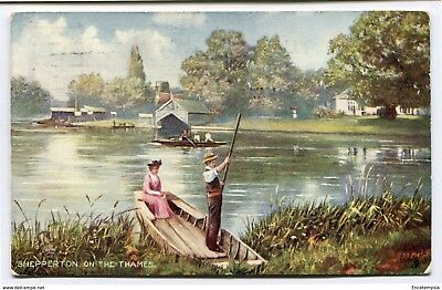 CPA-Carte postale-Royaume Uni -Shepperton on the Thames - 1907 (CP2229)
