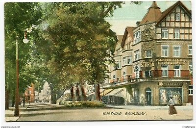 CPA-Carte postale-Royaume Uni -  Worthing Broadway - 1907 (CP2234)