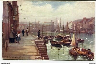 CPA-Carte postale-Royaume Uni - The Harbour - Weymouth - 1907 (CP2245)