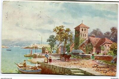 CPA-Carte postale-Royaume Uni - Plymouth - Cremyll Point - 1907 (CP2244)