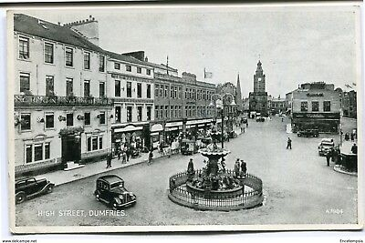 CPA-Carte postale-Royaume Uni -High Street - Dumfries - 1950 (CP2251)