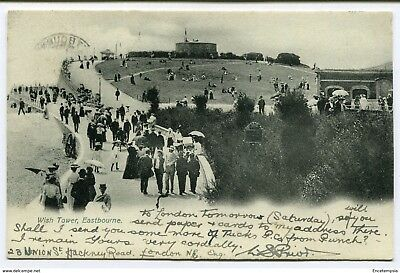 CPA-Carte postale-Royaume Uni -Eastbourne - Wish Tower - 1907 (CP2254)