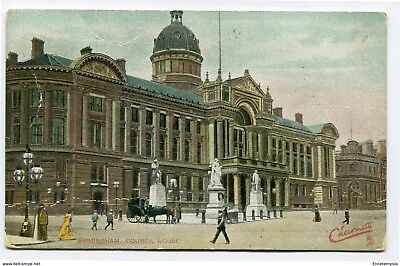 CPA-Carte postale-Royaume Uni -Council House - Birmingham - 1907 (CP2262)