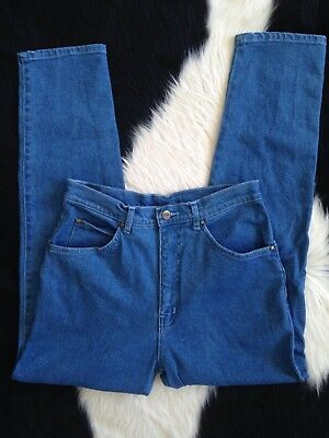 "80s ""Kawami"" Stretch Classic Blue Straight leg Highwaisted Mom Jean S"