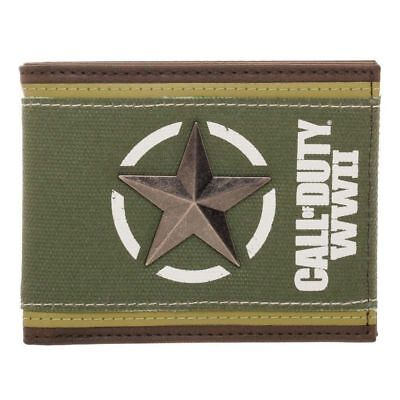 NEW OFFICIAL Call of Duty WWII Logo Army Style Boys Mens Wallet
