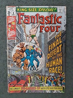 Fantastic Four King Size Special 8 , Dec 1970