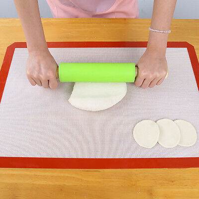 Silicone Baking Mat Sheet Bakeware Non Stick Oven Cake Cookie Pastry Tray Heat