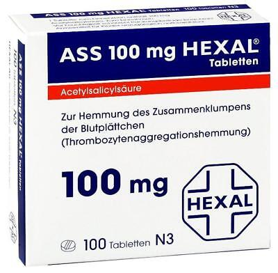 ASS 100 Hexal Tabletten 100St PZN: 7402210