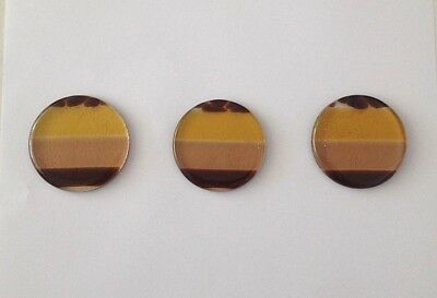 Genuine Jo Downs Bespoke Fused Glass Tea Light Coasters Direct From The Gallery