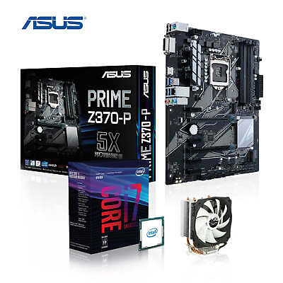 Aufrüst-Kit Intel Coffee Lake i7-8700K, ASUS PRIME Z370-P