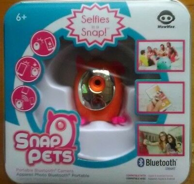 Snap Pets Selfies In A Snap Portable Bluetooth Camera~New In Box~