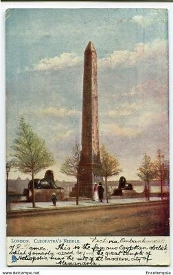 CPA-Carte postale-Royaume Uni -London -Cleopatra's Needle - 1907 (CP2279)