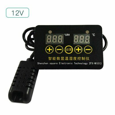 Digital Humidity Temperature Controller Humidifier Hygrometer Control GZ