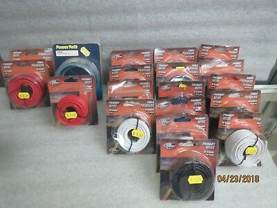 Road Power Primary Wire 10,12,14,16, & 18 Gauge different lengths-NEW lot of 19