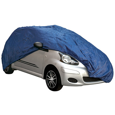 Indoor & Outdoor All Year Protection Breathable Full Car Cover (Small (400X160X1
