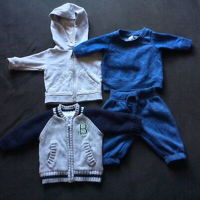 TLW baby sports jacket, Dymples polofleece tracksuit set, TLW zip hoodie 000