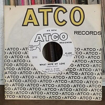 Ben E. King | R&B Soul 45 | Groovin / What Now My Love | Atco 6284