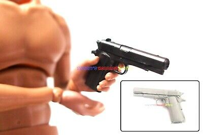 "1 x New 1//6 Scale Beretta M92F Hand Short Gun For 12/"" Action Figure All Black"