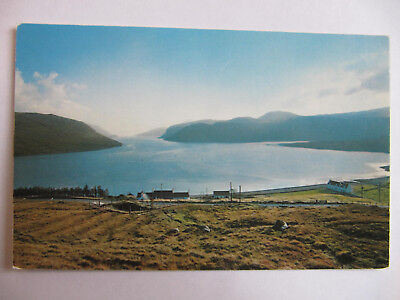 Loch Seaforth, Isle of Lewis, Western Isles - Vintage Colour Postcard