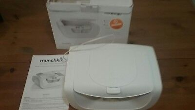 Munchkin Mist Baby Wipe Warmer (New, Damaged Box, Free Shipping)