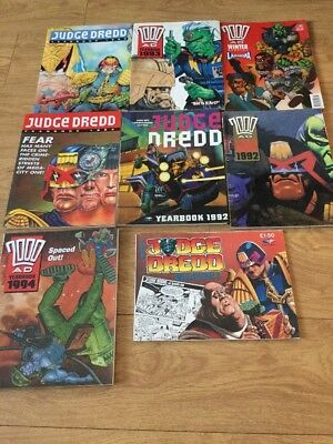 Bundle Of Judge Dredd 2000 AD Books Fleetway