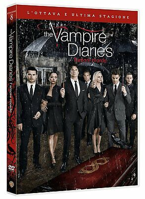 The Vampire Diaries - Stagione 8 (3 DVD) Nuovo originale e sigillato ITA