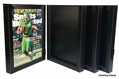 UV Protect July 1994 to Current Lot of 4 Sports Illustrated Display Case Frame